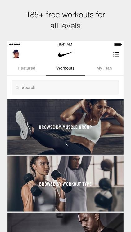 Nike Training Club screenshot-0
