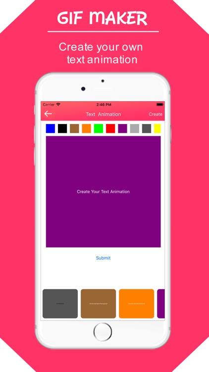 Gif Maker & Editor : Customise