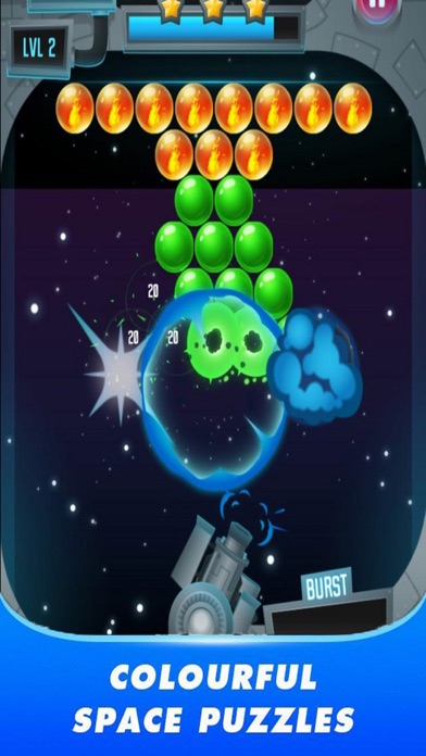 Space Pop Ball screenshot 3