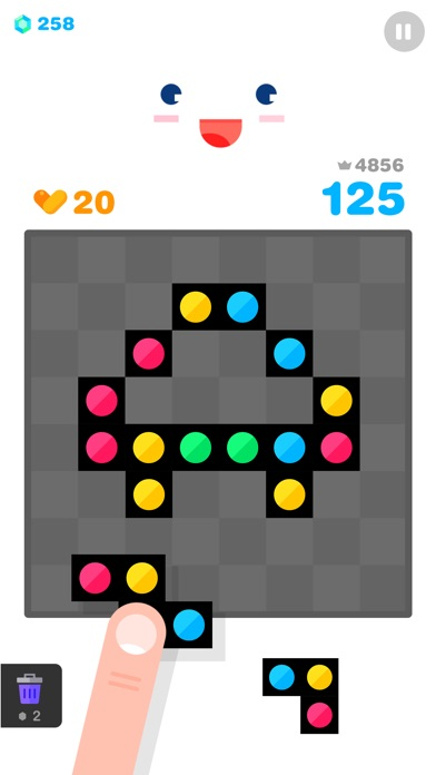 Screenshot 3 Dot Blocks!