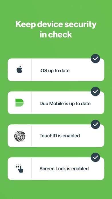 Duo Mobile review screenshots