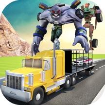 超级英雄 汽车 转运: 怪物 卡车