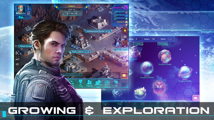 Galaxy At War Online - Strategy Battle Games screenshot-3