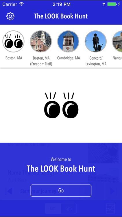 LOOK Book Hunt