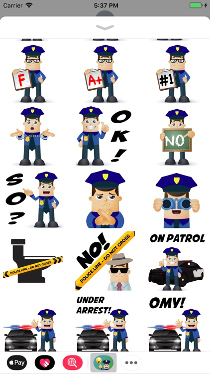 Police Moji-Emoji for Police screenshot-1