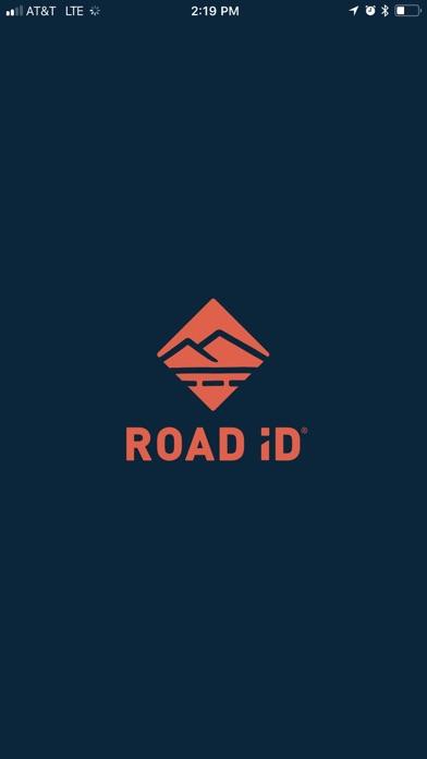 Road ID screenshot