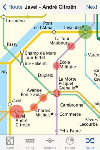 Metro Paris Subway screenshot 3