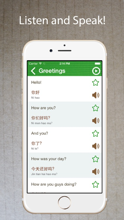 Learn Chinese Phrasebook Pro +