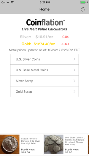 PCGS Coinflation on the App Store