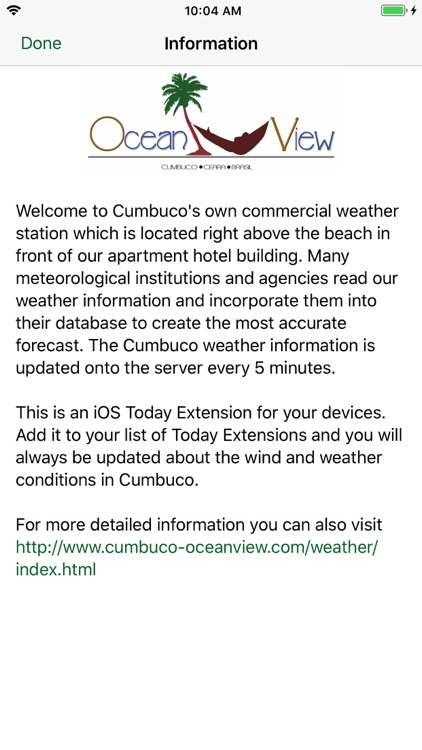 Cumbuco Weather Station