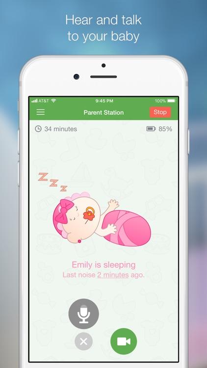 Baby Monitor 3G screenshot-3
