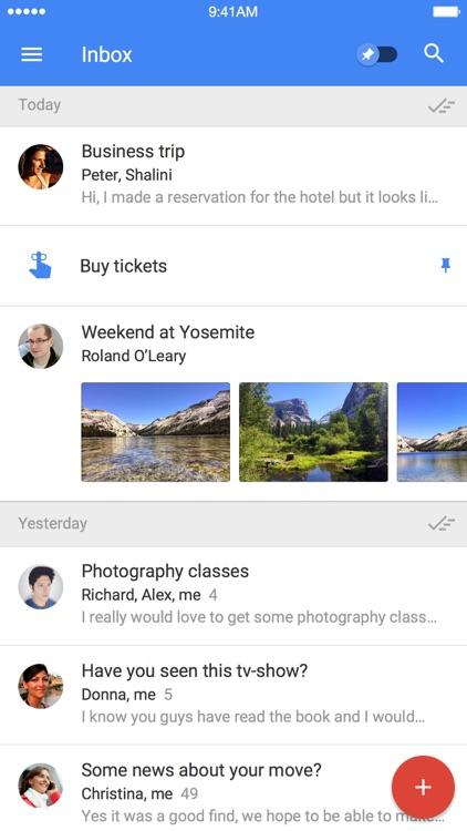 Inbox by Gmail screenshot-0