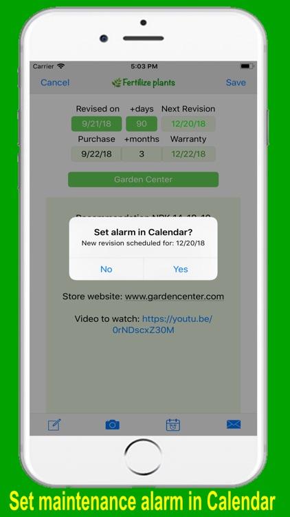 HomeMaint - Home Maintenance screenshot-3