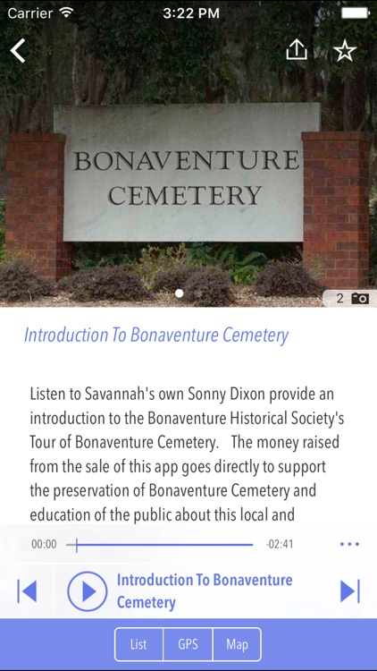 Bonaventure Cemetery Tour screenshot-2