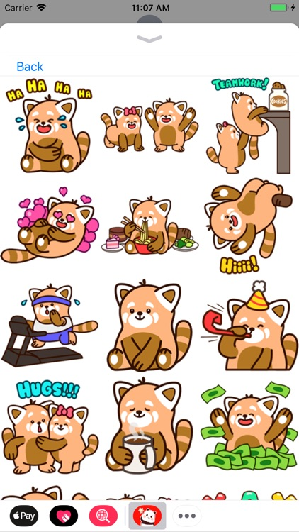 Panda Stickers Collection screenshot-8