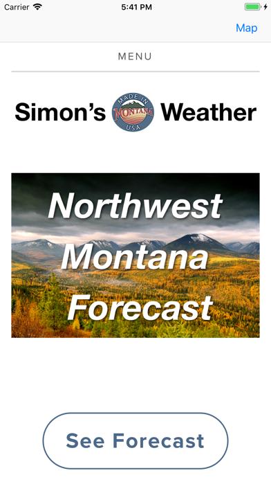 Simon's Weather Screenshot