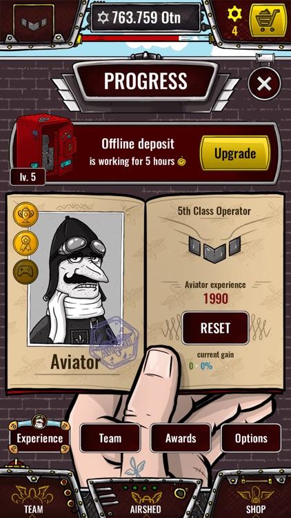 Aviator - idle clicker game screenshot-3