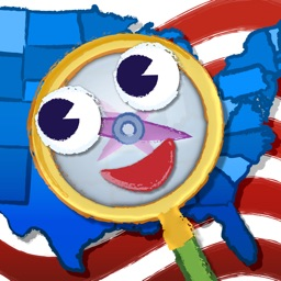 GeoSeeker USA HD: Map-Reading and Geography with a Hidden Object Twist