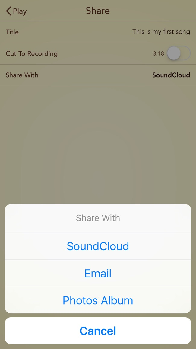 SongMaker+ Screenshot
