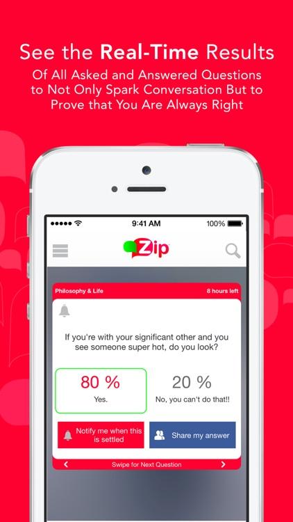 Zip - The Question Answer App screenshot-4