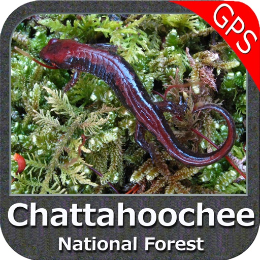 Chattahoochee National Forest - GPS Map Navigator
