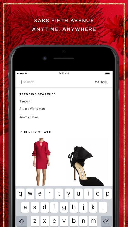 Saks Fifth Avenue screenshot-3