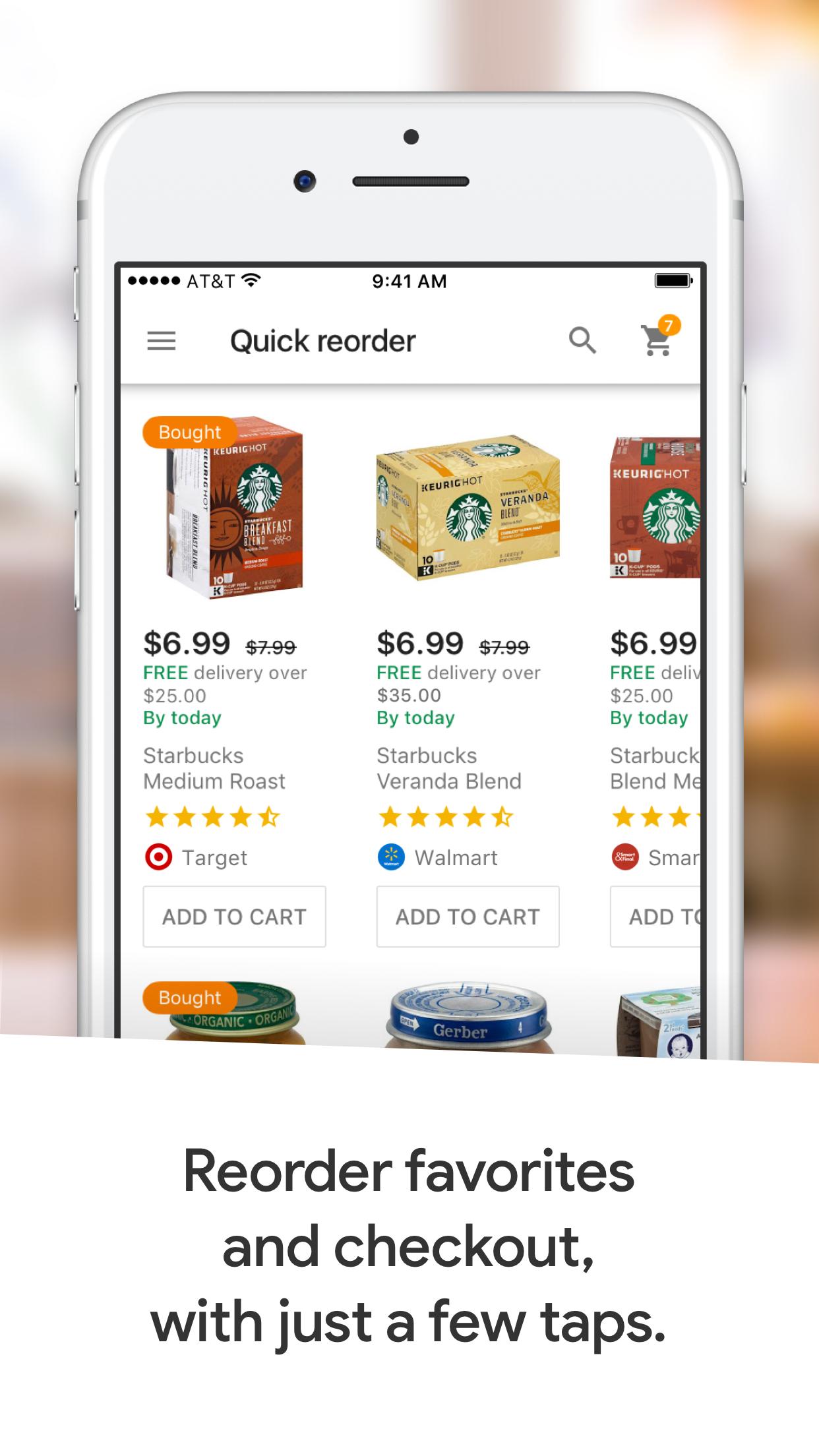 Google Express - Shopping Screenshot