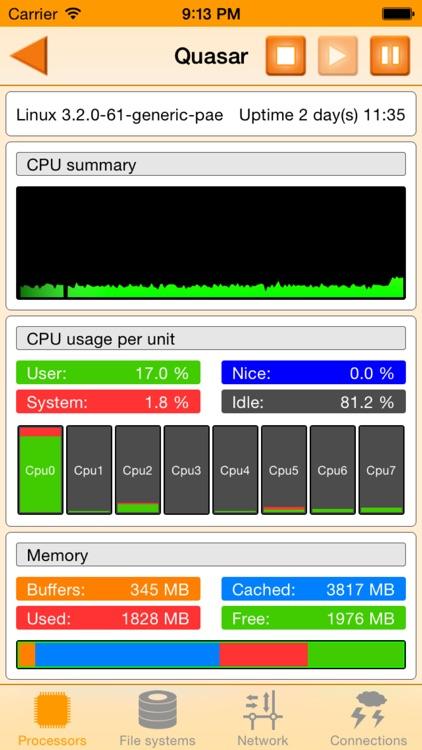 GKrellM - Server-Performance Monitoring-Tool