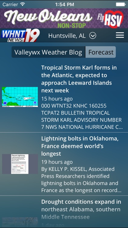 LiveAlert 19 Huntsville WX screenshot-4
