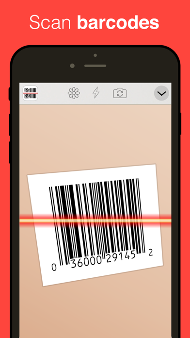 QR Reader for iPhone app image