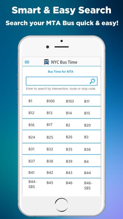 NYC Bus Time App (MTA) screenshot-3