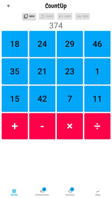 Count Up: A Running Total Game screenshot 1
