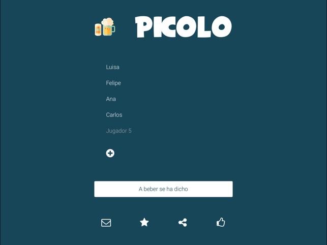 Picolo Juegos Para Beber En App Store
