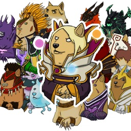 Dog in the moba universe