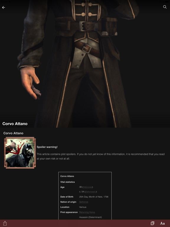 FANDOM for: Dishonored-ipad-3