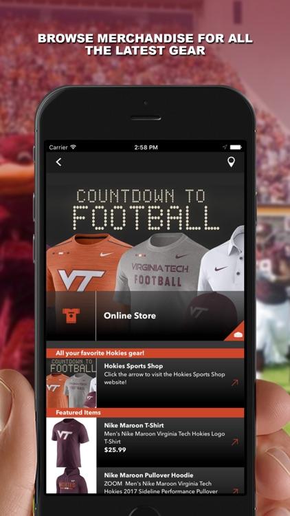 Virginia Tech HokieSports screenshot-3