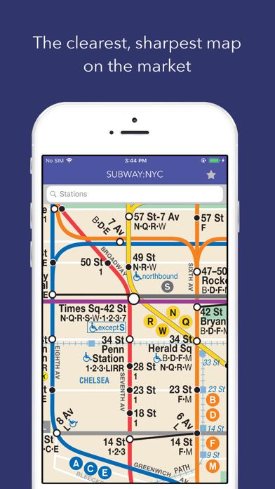 Portable Nyc Subway Map.Subway Nyc Map Train Times App Price Drops