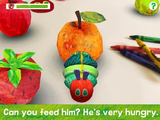 My Very Hungry Caterpillar AR Screenshots