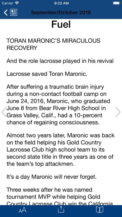 US Lacrosse Publications screenshot-7