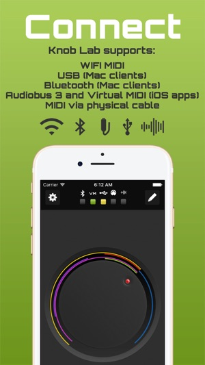 Knob Lab - MIDI Controller by Sonic Logic on the App Store