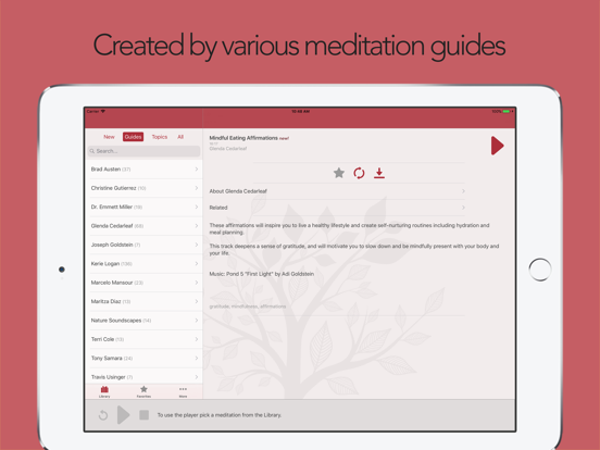 Guided Mind — Relieve Stress & Suffering Caused By Insomnia, Pregnancy, Anxiety & More Using Guided Meditation, Imagery, Hypnosis & Mindfulness screenshot