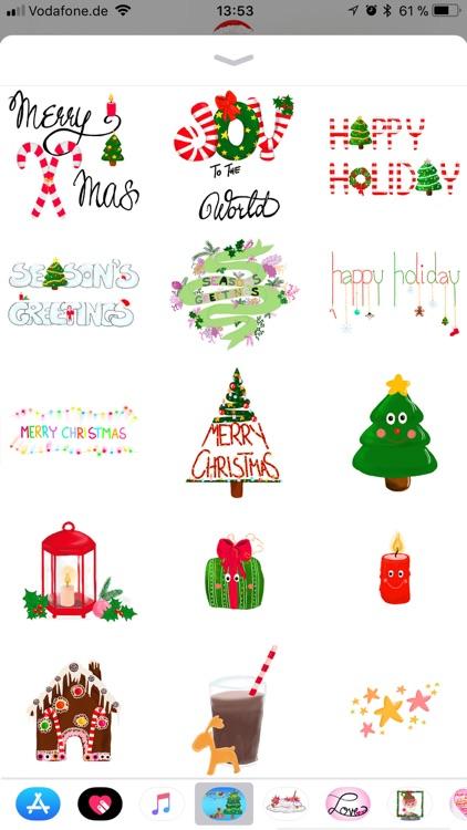 Ultimate Christmas Stickers screenshot-3