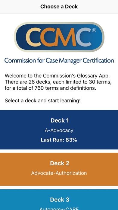 CCM Glossary App app image