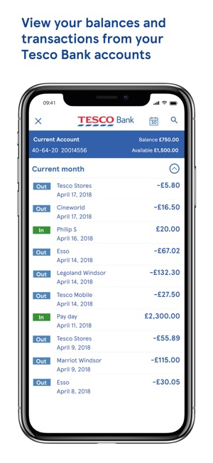 recipe: tesco mobile banking [16]