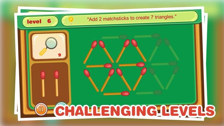 Puzzle-Matchstick screenshot-3