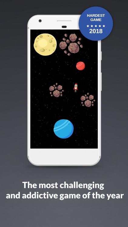 Space Game: Rocket & Asteroids screenshot-4