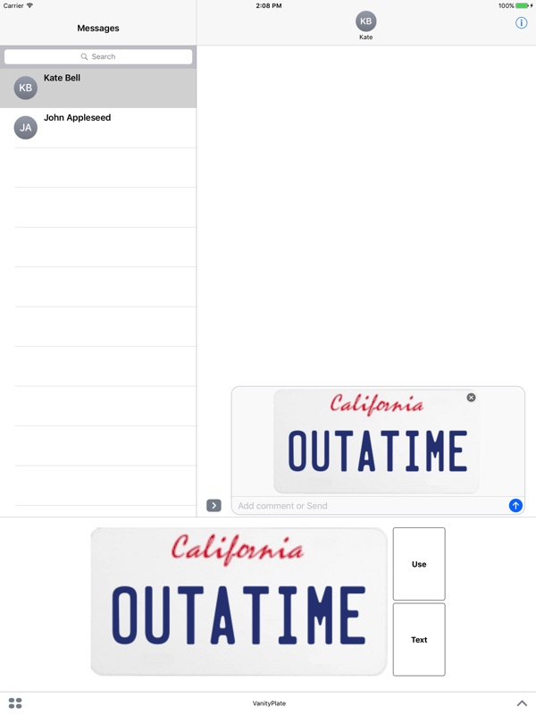 Vanity License Plate Maker For Imessage Online Game Hack And