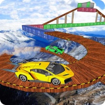 Crazy Car Impossible Sky Race