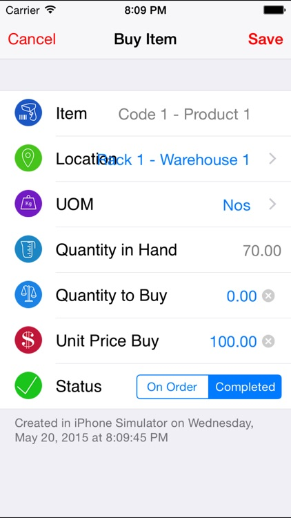 Inventory Stock Sale Warehouse