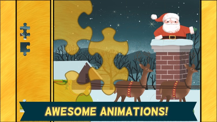 Christmas Games for Kids- Toddler Jigsaw Puzzles screenshot-3